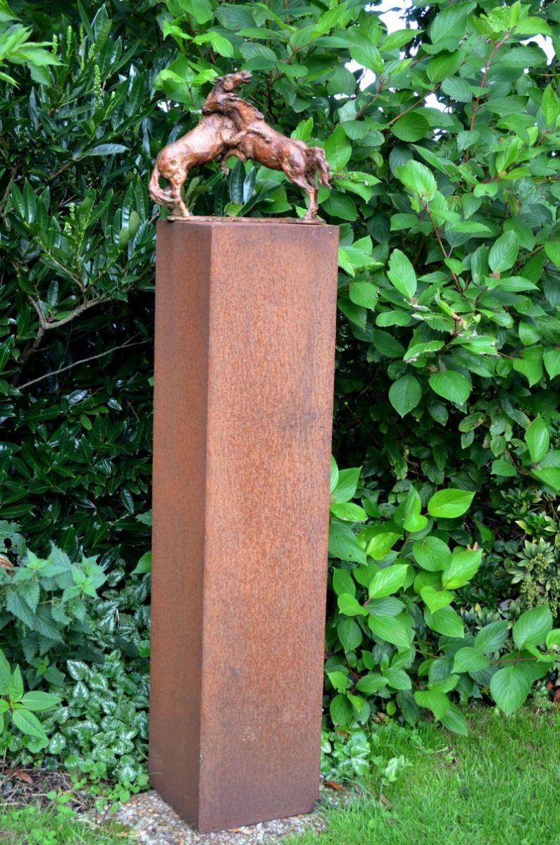 Els van der glas beelden kleiner werk toepassen in de tuin - Kleur voor een entry ...